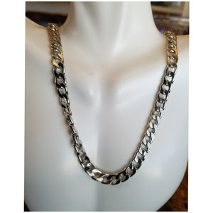 "Other - Stainless Steel Chain Necklace 24"" long"